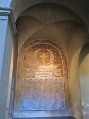 World War I memorial, Église Saint-Polycarpe, Lyon, France (Paul McClure DC) Tags: lyon france july2017 auvergnerhônealpes architecture historic church lacroixrousse