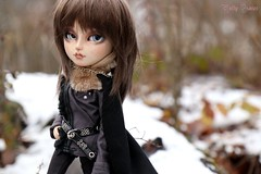 In The Homeland (Little Queen Gaou) Tags: vampire myth mythe story histoire dracula créature creature prince royal neige snow mountains montagnes woods bois nature wild sauvage aride arid inspiration photography photographie doll groove taeyang tsubasa artiste artist