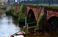 The Old Dee Bridge Chester Feb 17Th  2019 Nikon D7100 (mrd1xjr) Tags: the old dee bridge chester feb 17th 2019 nikon d7100