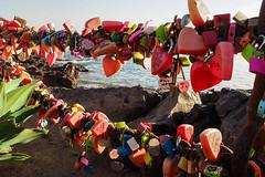 Holiday Love (Lens Daemmi) Tags: lanzarote puertodelcarmen tías kanarischeinseln spanien es holiday love locks liebesschlösser