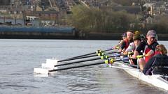 Tyne ARC 1st VIII (fergusmainland) Tags: rowing rudern remo river british britain aviron tyne boat eight newcastle powershot canottaggio cannon