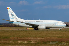 "YR-BGG | TAROM (""Happy 60 Years"" livery) | Boeing 737-78J | BUD/LHBP (Tushka154) Tags: hungary specialscheme spotter 737nextgeneration 73778j ferihegy budapest 737700 tarom happy60years yrbgg boeing 737 737ng aircraft airplane avgeek aviation aviationphotography boeing737 boeing737nextgeneration boeing737ng budapestairport lhbp lisztferencinternationalairport planespotter planespotting romanianairtransport spotting"