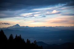 Monviso (Pietro Luzzati) Tags: monviso alps piemonte piedmont nature sky clouds sunset italy