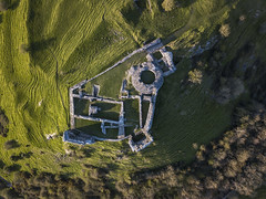 #190 Ruins (Timster1973 - thanks for the 16 million views!) Tags: welsh castle ruin ruins derelict perspective aerial aerialphotography fly mavic drone uav quadcopter dji mavicprodrone djimavicpro up uphigh droneflying tim knifton timster1973 timknifton explore exploration lookdown lookingdown color colour countryside country green detail ridges