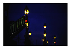 open bridge (Armin Fuchs) Tags: arminfuchs stpetersburg russia bridge lamps blue sky yellow jazzinbaggies