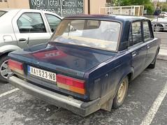 1988 Lada 2107 1300 (FromKG) Tags: lada 2107 vaz 1300 car kragujevac serbia blue 2019