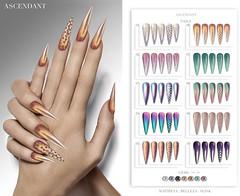GLOSS | January 13th (Kah Melody | ASCENDANT) Tags: ascendant bento nails gloss maitreya slink belleza