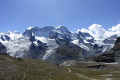 D20002.  From the Gornergratbahn. (Ron Fisher) Tags: schweiz suisse svizzera switzerland kantonwallis valais cantonvallese europa europe zermatt mountain snow glacier gletcher diealpen thealps swissalps alpessuisses schweizeralpen alpisvizzere sony sonyrx100iii sonyrx100m3 compactcamera