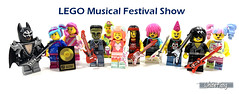 LEGO Musical Festival Show (WhiteFang (Eurobricks)) Tags: lego collectable minifigures series city town space castle medieval ancient god myth minifig distribution ninja history cmfs sports hobby medical animal pet occupation costume pirates maiden batman licensed dance disco service food hospital child children knights battle farm hero paris sparta historic brick kingdom party birthday fantasy dragon fabuland circus people photo magic wizard harry potter jk rowling movies blockbuster sequels newt beasts animals train characters professor school university rare sign movie warner brothers apoc