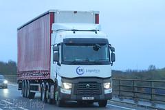Renault TR Logistics FJ16 DUV (SR Photos Torksey) Tags: transport truck haulage hgv lorry lgv logistics road commercial vehicle freight traffic renault