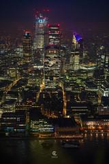 London Skyline View (Christophe_A) Tags: london england uk city tokina opera tokinaopera 50mm global ambassador christopheanagnostopoulos christophe christopheanagno christopheanagnocom wwwchristopheanagnocom christmas londoncity skyline urban cityscape citylights neon lights nightlights skyhigh light pollution skyscraper building tower