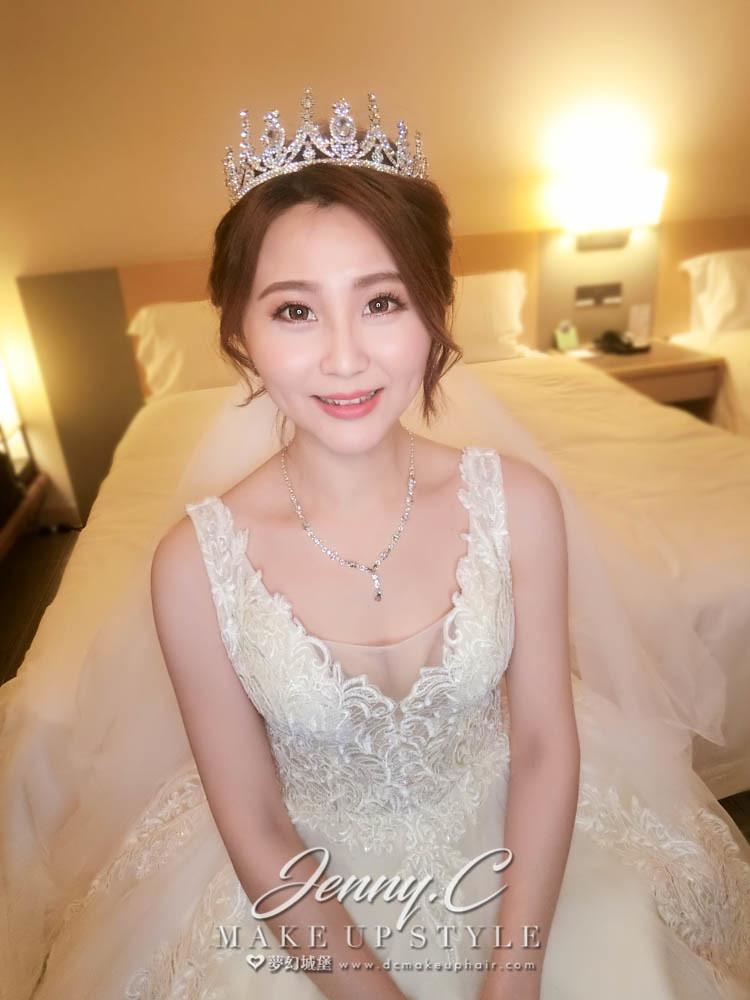 【新秘蓁妮】bride姵甄 結婚造型 /麗寶福容大飯店