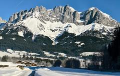 Wilder Kaiser - Tirol (Ernst_P.) Tags: 70200mm aut f28 gebirge going österreich panorama schnee sigma tirol wilderkaiser winter austria autriche tyrol invierno nieve neige snow mountains alpen alps montaña