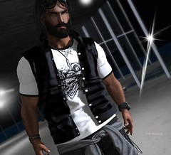"""""""We must all face the choice between what is right and what is easy."""" (Roy Mildor / RM ~ Art Of Poses ~ CEO) Tags: nero roymildor tmd fashion men man guy cool equal10 blog blogger male"""