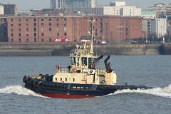 Svitzer Warden (Das Boot 160) Tags: svitzerwarden tugs towage towing ships sea ship river rivermersey port docks docking dock boat boats maritime mersey merseyshipping liverpool