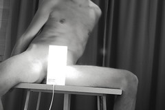 Nude nr 1 (alexs93) Tags: nude naked model portrait men body bw blackandwhite black white light lights erotic adult 18 porn nudity man male penis horny cock dick masculine