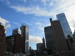 2019 February Building Cloud Reflection 2570 (Brechtbug) Tags: 2019 february afternoon light again virtual clock tower from hells kitchen clinton near times square broadway nyc 02272019 new york city midtown manhattan winter weather building breezy cloud hell s nemo southern view