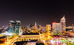 Saigon from above (longtnguyen) Tags: saigon cities cityscape landscape night nightscape