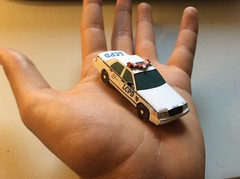 Ford Crown Victoria LCPD mini papercraft (callmevegas2008) Tags: ford crown victoria papercraft vic papermodel carmodel papercarmodel paper car model