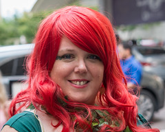 (jwcjr) Tags: 2016dragoncon atlantaga atlantageorgia dragoncon dragoncon2016 pentax people atlanta cosplay woman costume redhair streetportrait face