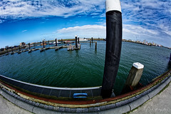 Because The World Is Round (Alfred Grupstra) Tags: sea water pier nature harbor outdoors blue sky nauticalvessel jetty coastline famousplace architecture summer lake europe nopeople scenics commercialdock travel harbour