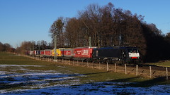 189 986 / TXL - Vogl (lukasrothmann) Tags: bayern oberbayern heimat vogl groskarolienenfeld trains train zug lok lokomotive txl 189 siemens es64f4 klv