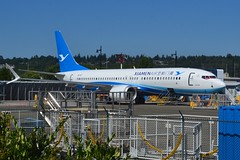 B-1117 (LAXSPOTTER97) Tags: b1117 boeing 737 7378 max xiamen airlines xiamenair 43829 ln 7015 aviation airport airplane krnt