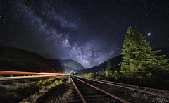 All roads lead to the stars! (abhijitcpatilphotography) Tags: milkyway galaxy cosmos darksky night nightsky stars starrynight universe milkywaychaser nightphoto landscape nightscape longexposure leadinglines nightowl milkywaycore astro astrophoto astrophotography astrolandscape