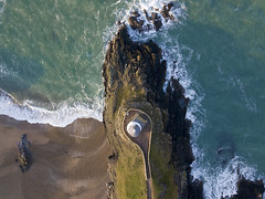 #187 Top down (Timster1973 - thanks for the 16 million views!) Tags: aerial aerialphotography fly mavic drone uav quadcopter dji mavicprodrone djimavicpro up uphigh droneflying tim knifton timster1973 timknifton explore exploration perspective lookdown lookingdown color colour down llanddwyn wales welsh coast coastal lighthouse sea seascape drama water waterscape land landscape ocean beach cliffs rock rocks exterior external northwales uk