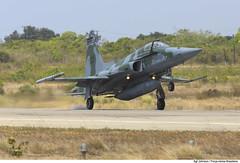 F-5EM (Força Aérea Brasileira - Página Oficial) Tags: bra brasil brazil brazilianairforce cruzex cruzex2018 fab forcaaereabrasileira fotojohnsonbarros natalrn natal rn f5 f5em pouso aviacaodecaca caça
