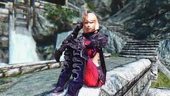 Deathskin #1 (abrarmcfly) Tags: skyrim tesv real vision enb tera armor deathskin sexy
