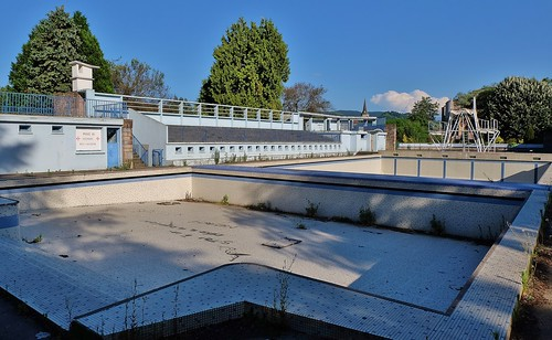Saint Girons, l'ancienne piscine