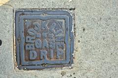 Brookline Gas Drip, Boston, MA (Robby Virus) Tags: boston massachusetts ma beantown brookline gas drip metal access cover