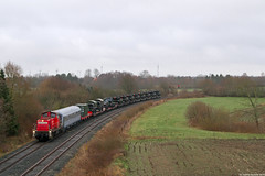 290 504 I Beschendorf (Bahn Sascha) Tags: eisenbahn db cargo güterzug militär bundeswehr beschendorf v90 diesellok ostholstein