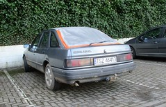 A Long Way from Home (occama) Tags: ford sierra 20i old car cornwall uk polish poland plates registration silver bangernomics 1990s alongwayfromhome