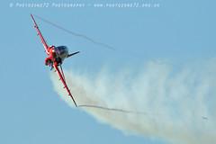 9827 Syncho (photozone72) Tags: raf rafat redarrows reds redwhiteblue aviation aircraft hawk synchro lincolnshire scampton canon canon7dmk2 canon100400f4556lii 7dmk2