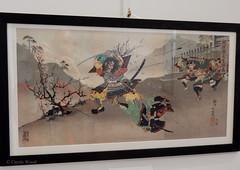 Carcassonne - Musée des Beaux-Arts (Fontaines de Rome) Tags: aude carcassonne musée beaux arts exposition samouraï art symbolisme japon estampe utagava kokunimasa japan samurai 日本 美術 侍 象徴主義