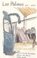 19-01 Santa Catalina (Rosta26) Tags: travel journal sketching santa catalina bust station