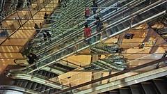 20190302_DP0Q6588-16x9 (NAMARA EXPRESS) Tags: travel escalator construction structure reflection mirror amazing daytime spring indoor color marion yurakucho tokyo japan spp spp661 foveon x3 sigma dp0 quattro wide ultrawide superwide namaraexp