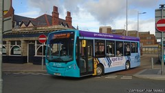 Arriva Buses Wales ADL Enviro 200 CN65 DHE 2156 - Rhyl (Efan Thomas Bus Spotting Photography) Tags: arriva buses wales alexander dennis adl enviro 200 cn65dhe 2156