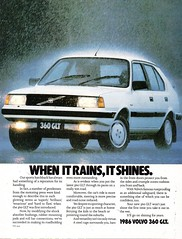 1986 Volvo 360 GLT 5 Door Hatchback Aussie Original Magazine Advertisement (Darren Marlow) Tags: 1 3 6 8 9 19 86 1986 v volvo g l t 360 h hatchback c car cool collectible collectors classic a automobile vehicle s sweden swiss swedish e european europe 80s