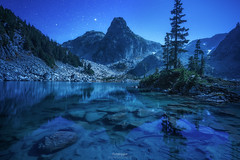 'Night Reflections' - Watersprite Lake (Gavin Hardcastle - Fototripper) Tags: watersprite lake squamish britishcolumbia nightscapes mountains stars astrophotography night reflections
