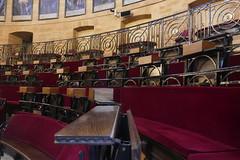 Salle du Parlement ou Sta Maria la Antigua, parlement de Biscaye (1826),  Guernica, comarque de Busturialdea, Biscaye, Pays basque, Espagne. (byb64) Tags: guernica guernicaylumo gernikalumo герника biscaye viscaya bizkaia biscay biscaglia paysbasque euskadi euskalherria paisvasco espagne espana spain spagna spanien europe europa eu ue биска́йя испании страна́ба́сков parlement parlementdebiscaye casadejuntas santamarialaantigua parlamento parliament députés