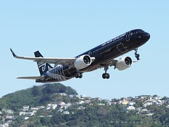 ZK-NNA (Maurice Grout) Tags: airnewzealand a321 airbus wellington wellingtonairport newzealand northisland