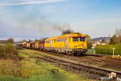02 avril 2019 BB 67622-67567 Train 815792 Coutras -> Limoges Agonac (24) (Anthony Q) Tags: 02 avril 2019 bb 6762267567 train 815792 coutras limoges agonac 24 sncf infra ferroviaire fret aquitaine dordogne rail rvb