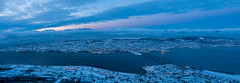 Blaue Stunde auf dem Fjellheisen (pschtzel) Tags: 2019 nordlicht tromsö
