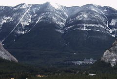 Fairmont From Far (Picsochris) Tags: banff hotel scenic mountains landscape