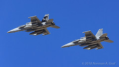 "Boeing EA-18G Growler of Electronic Attack Squadron 137 (VAQ-137) ""Rooks"" from NAS Whidbey Island (Norman Graf) Tags: fa18 agm88harm aircraft airplane analq99 aim120c ea18g electronicwarfare boeing nasfallon usn agm 168266 168269 missile vaq137 aim120 cagbird aim navalaviation ordnance rooks ab500 ab502 amraam asm advancedmediumrangeairtoairmissile airinterceptmissile airtogroundmissile airtosurfacemissile attack carrierairgroup ew electronicattacksquadron137 f18 f18g fighter growler highspeedantiradiationmissile hornet jet knfl naswhidbeyisland nfl plane tacjammer tacticaljammingsystem unitedstatesnavy"