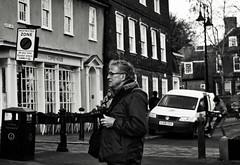 Art of the Photographer (Bury Gardener) Tags: monochrome mono bw blackandwhite burystedmunds britain suffolk streetphotography street streetcandids strangers candid candids 2018 nikond7200 nikon england eastanglia uk people peoplewatching folks angelhill
