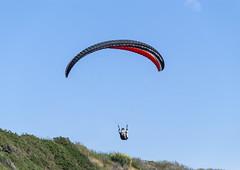 2014-06-06_15-03-20 Paraglider (canavart) Tags: canada britishcolumbia bc victoria paraglider paragliding paragliders dallasroad dallasrd bluffs bluesky spiralbeach